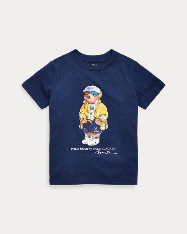T-shirt en jersey de coton Bear CP-93