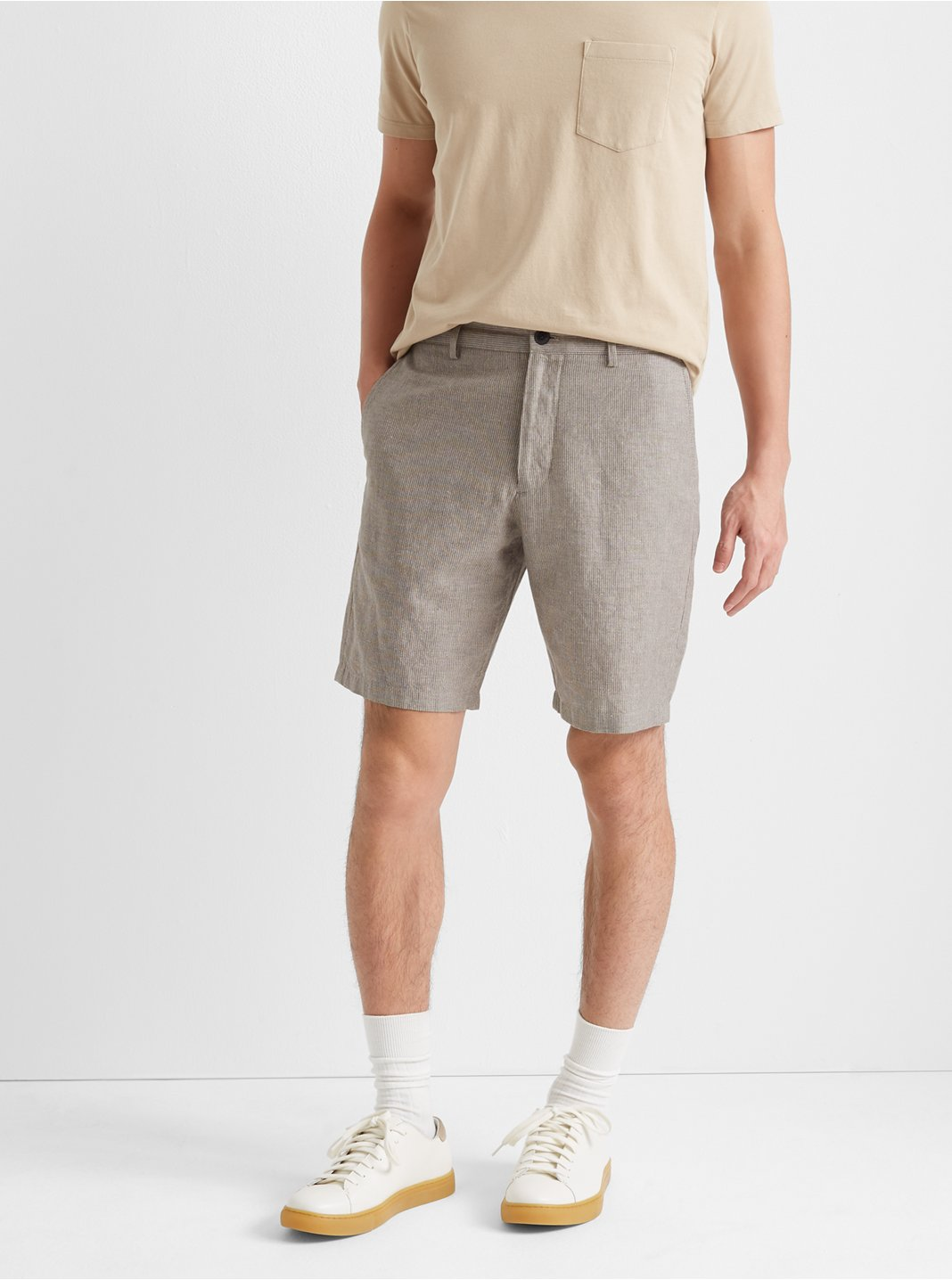 "Maddox Thin Stripe 9"" Shorts"