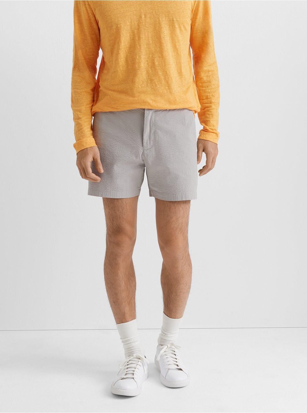 "Jax Seersucker 5"" Shorts"