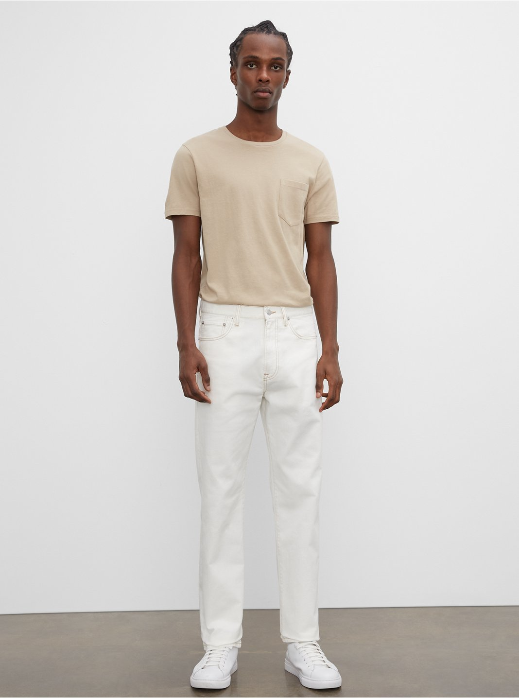 Jeans à coupe droite