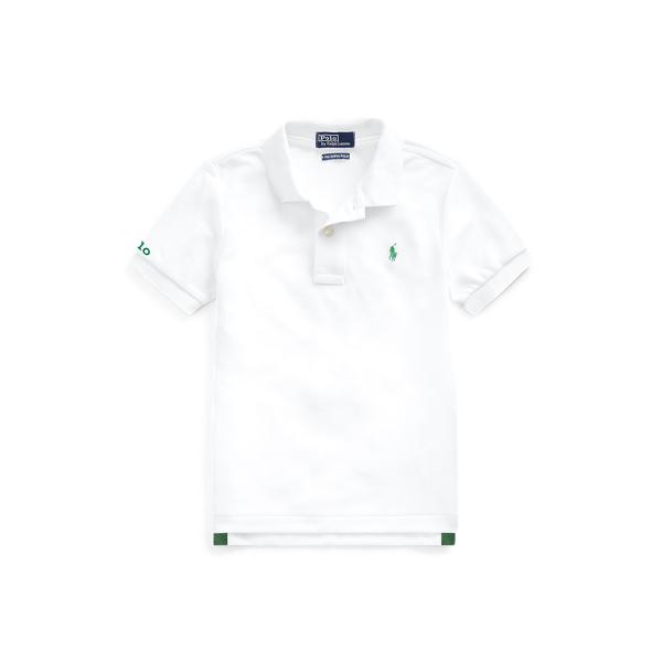 폴로 랄프로렌 보이즈 폴로셔츠 Polo Ralph Lauren The Earth Polo,Pure White