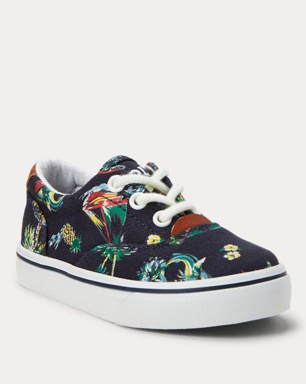 Thorton Hawaiian-Print Sneaker