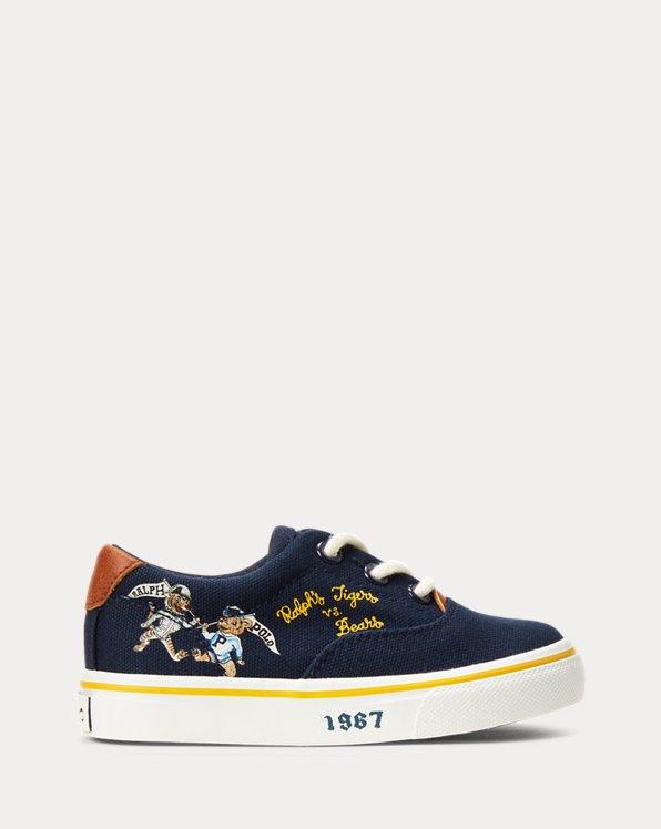 Thorton Doodle Canvas Sneaker