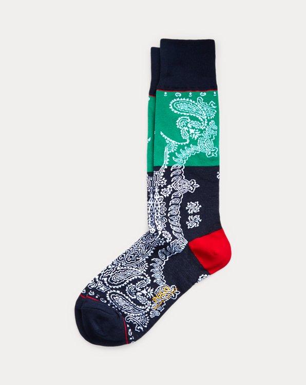 Bandanna Dress Socks