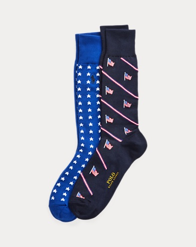 Americana Dress Sock 2-Pack