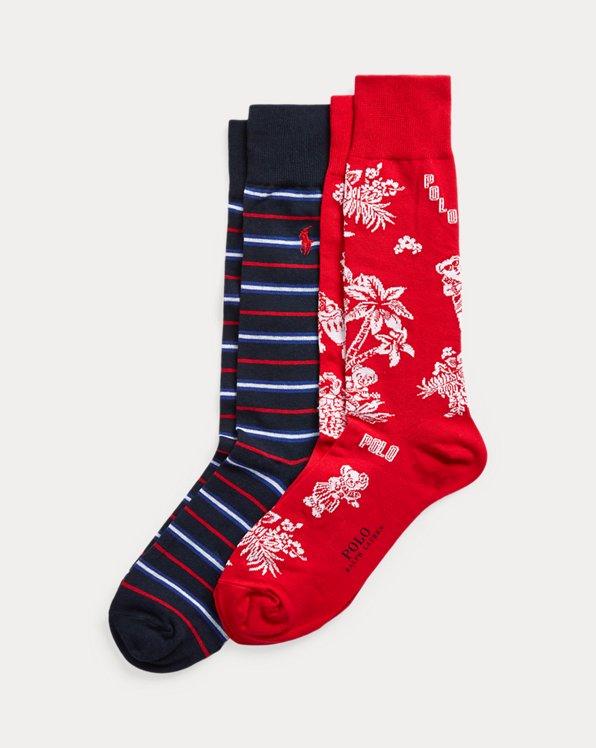 Tropical Bear Sock 2-Pack