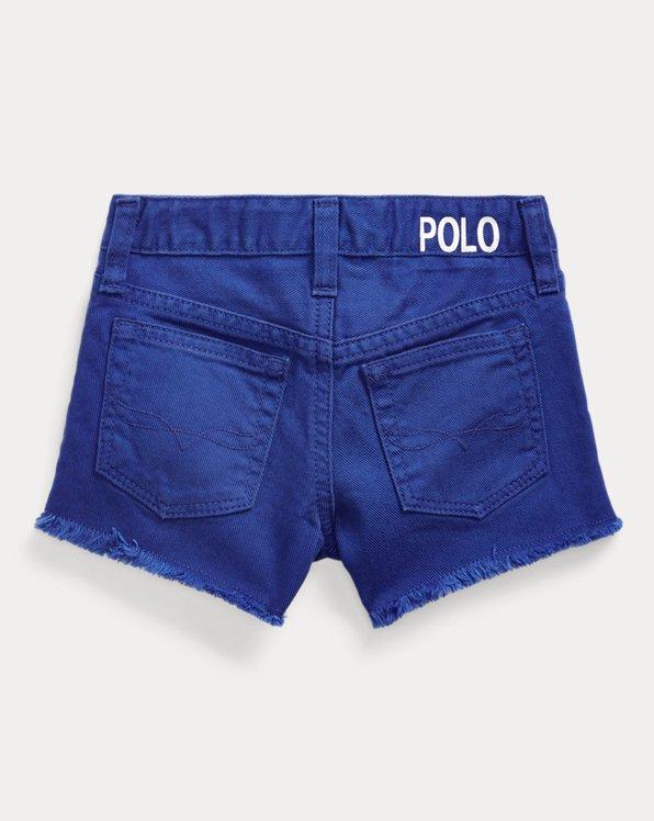 Polo Cotton Denim Short