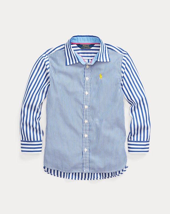 Bengal-Stripe Poplin Shirt