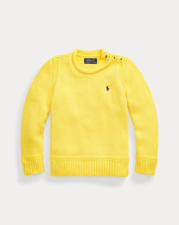 Cotton-Blend Rollneck Sweater