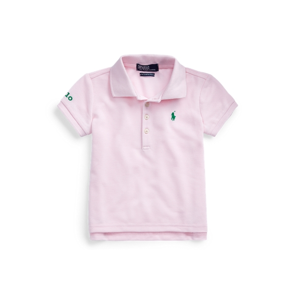 폴로 랄프로렌 여아용 폴로셔츠 Polo Ralph Lauren The Earth Polo,Hint Of Pink