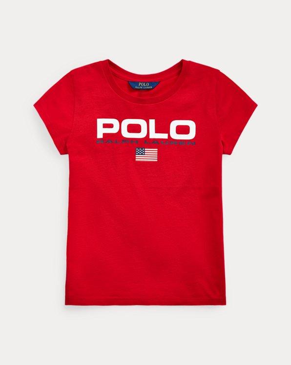 폴로 랄프로렌 Polo Ralph Lauren Cotton Jersey Graphic Tee,RL 2000 Red