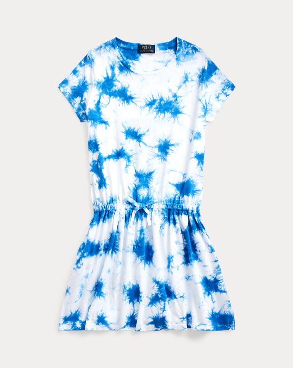 Tie-Dye Cotton Jersey Dress