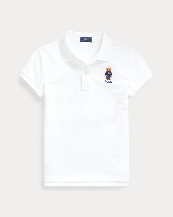 Sweater Bear Cotton Mesh Polo