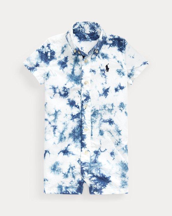 Tie-Dye Cotton Shortall