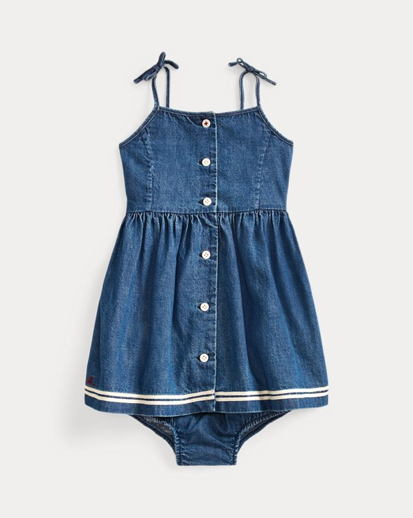 Denim Dress & Bloomer