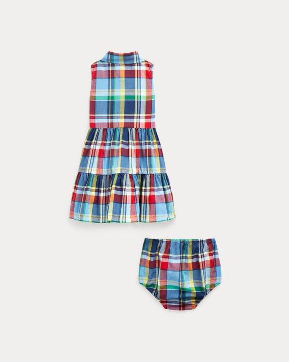 Plaid Dress & Bloomer