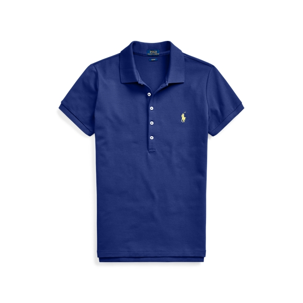 폴로 랄프로렌 Polo Ralph Lauren Slim Fit Stretch Polo Shirt,Fall Royal/C1229