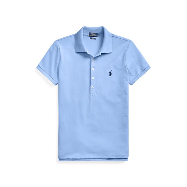 폴로 랄프로렌 Polo Ralph Lauren Slim Fit Stretch Polo Shirt,Harbor Island Blue/C7998
