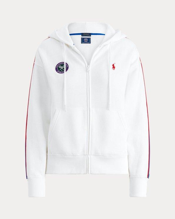 Wimbledon Fleece Zip Hoodie
