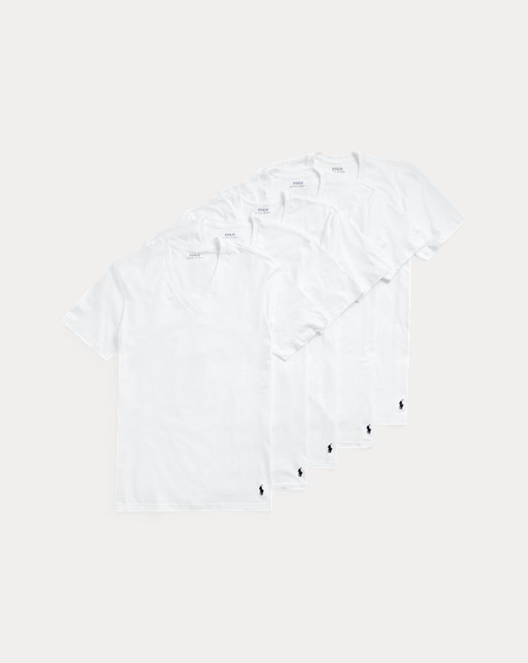 Classic Wicking V-Neck 5-Pack