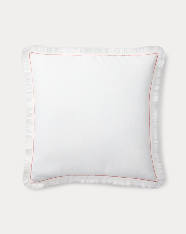 Maggie Ruffled Throw Pillow
