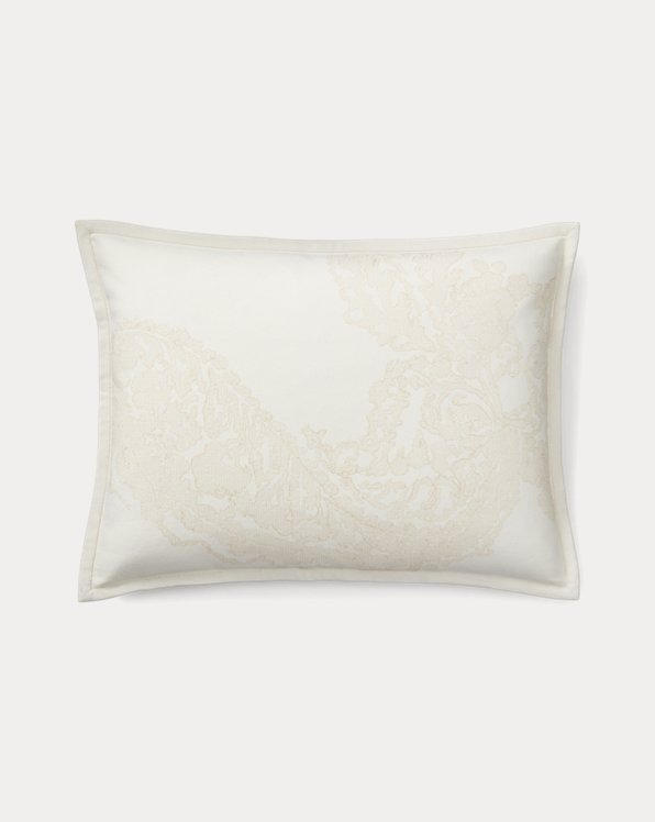 Allie Embroidery Throw Pillow