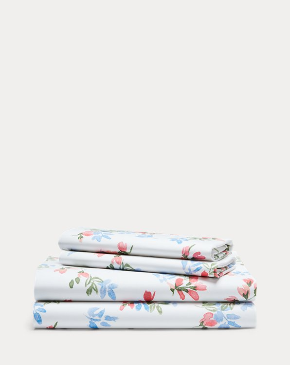 Maggie Floral Percale Sheet Set