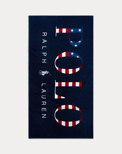 Logo Flag Beach Towel