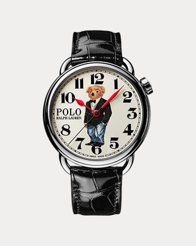 42-mm-Armbanduhr mit Tuxedo Bear