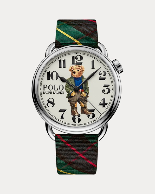42 MM Bedford Polo Bear Watch