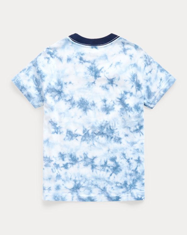 Tie-Dye Cotton Graphic Tee