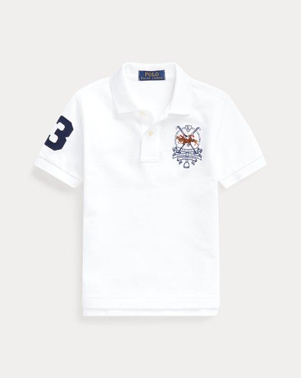 Polo Players Cotton Mesh Polo