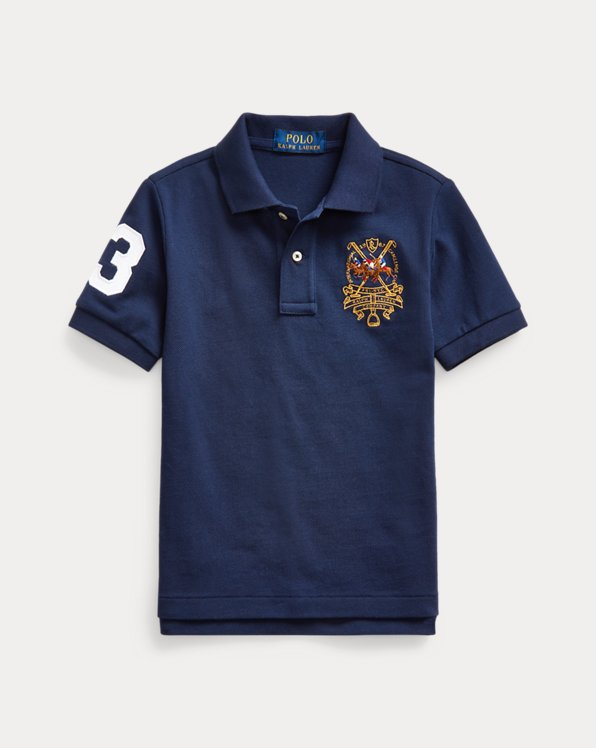 Polo Players Cotton Mesh Polo