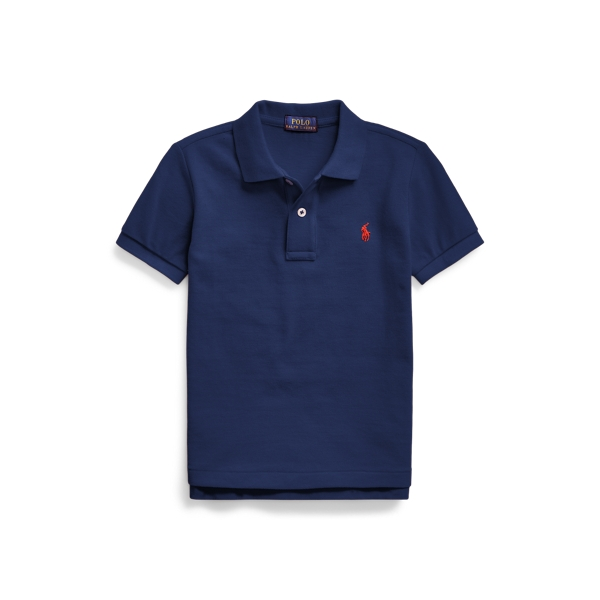 폴로 랄프로렌 남아용 폴로 셔츠 Polo Ralph Lauren Cotton Mesh Polo Shirt,Newport Navy