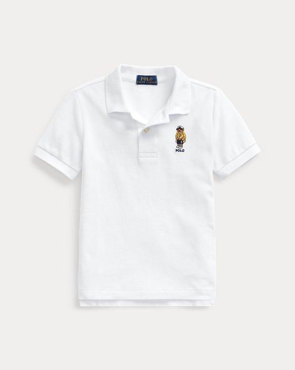 CP-93 Bear Cotton Mesh Polo