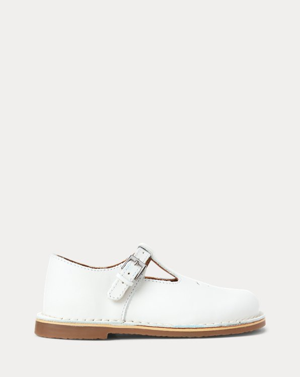 T-Strap Leather Shoe