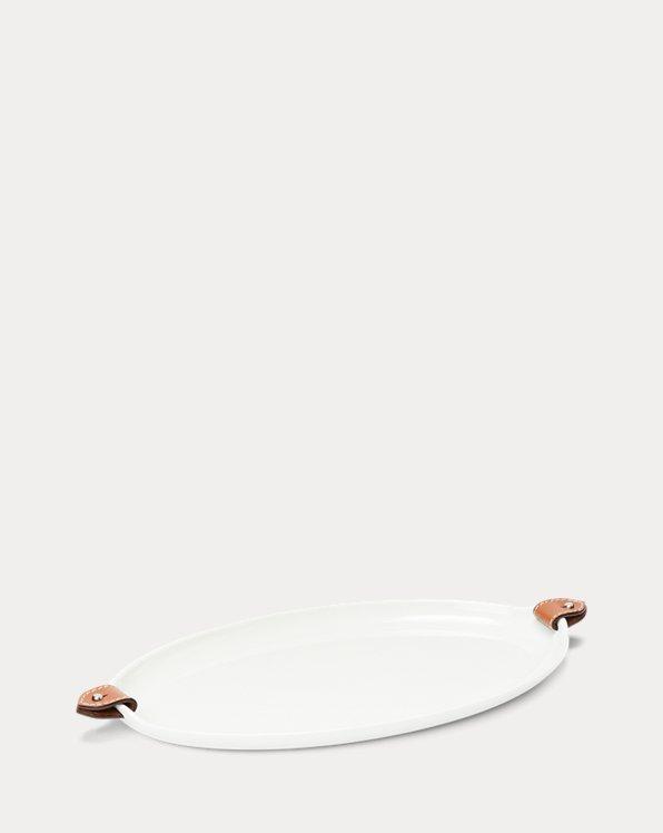 Wyatt Porcelain Oval Platter