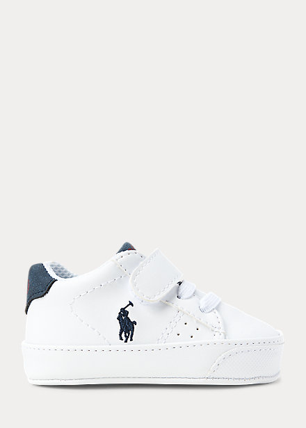 Polo Ralph Lauren Theron Faux Leather Sneaker