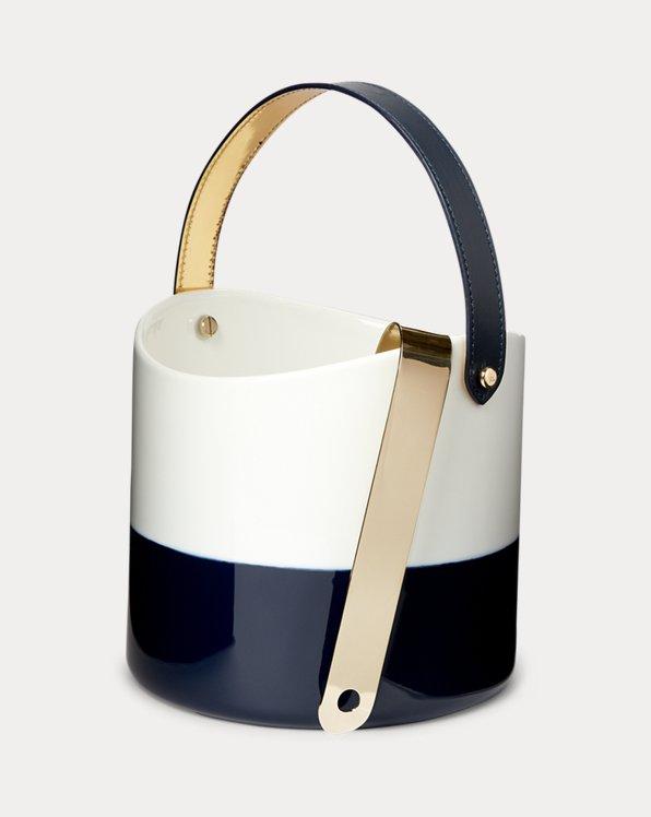 Wyatt Porcelain Ice Bucket