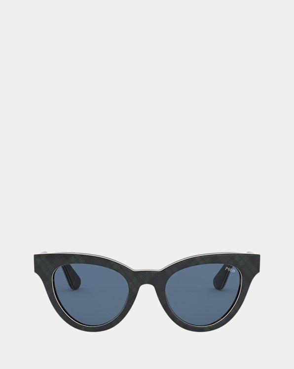 Trendige Cat-Eye-Sonnenbrille