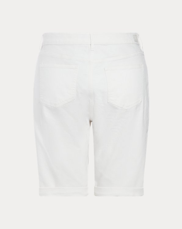 Stretch Cotton-Blend Short