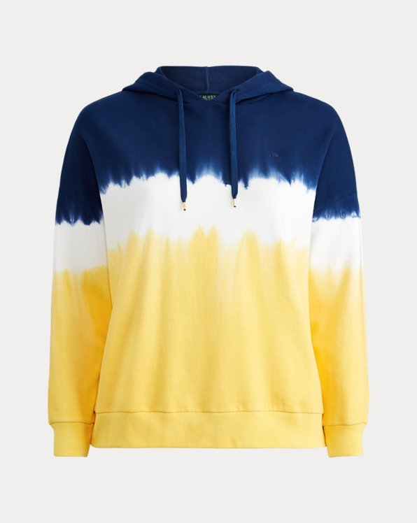 French Terry Tri-Color Hoodie