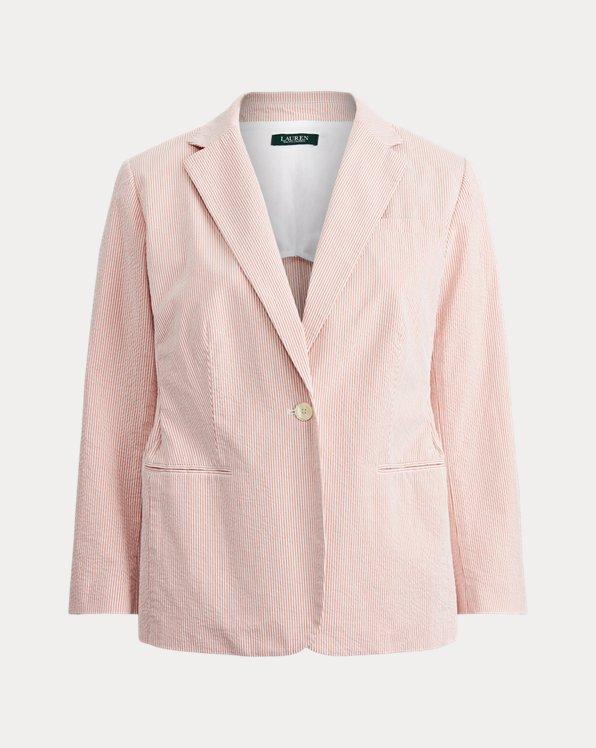 Cotton Seersucker Jacket