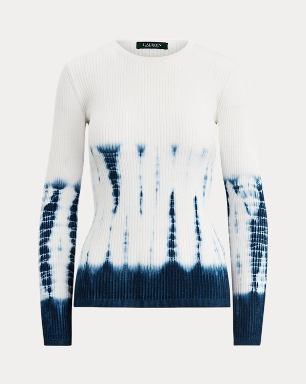 Tie-Dye Ribbed Sweater