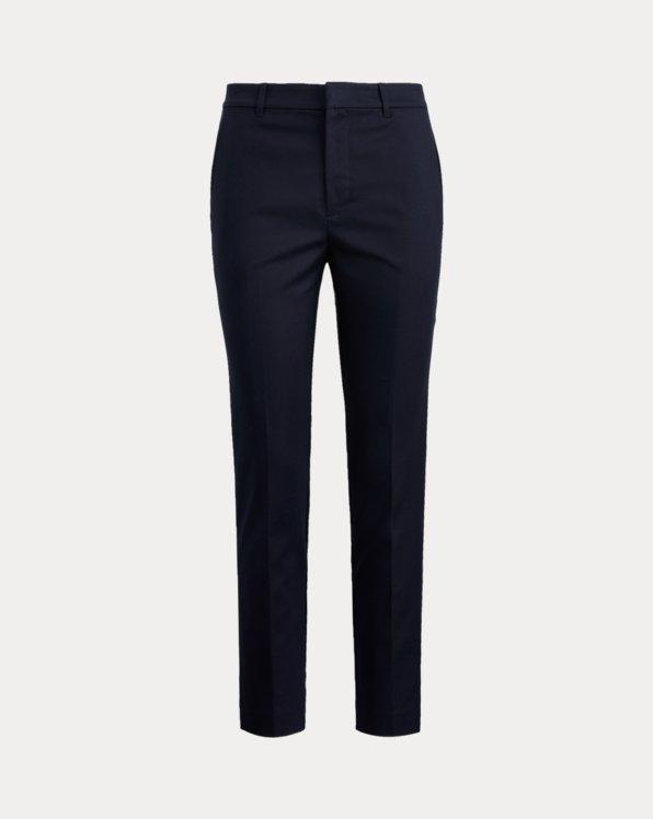 Stretch-Cotton-Blend Pant