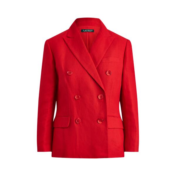 로렌 랄프로렌 블레이저 Polo Ralph Lauren Linen Twill Blazer,Orient Red