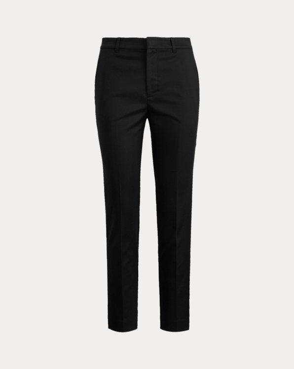 Stretch Cotton-Blend Trouser