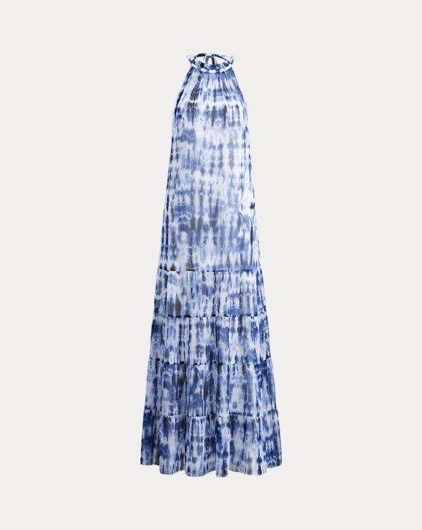 Tie-Dye Georgette Maxidress