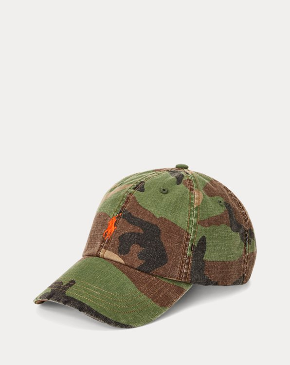 Camo Canvas Ball Cap
