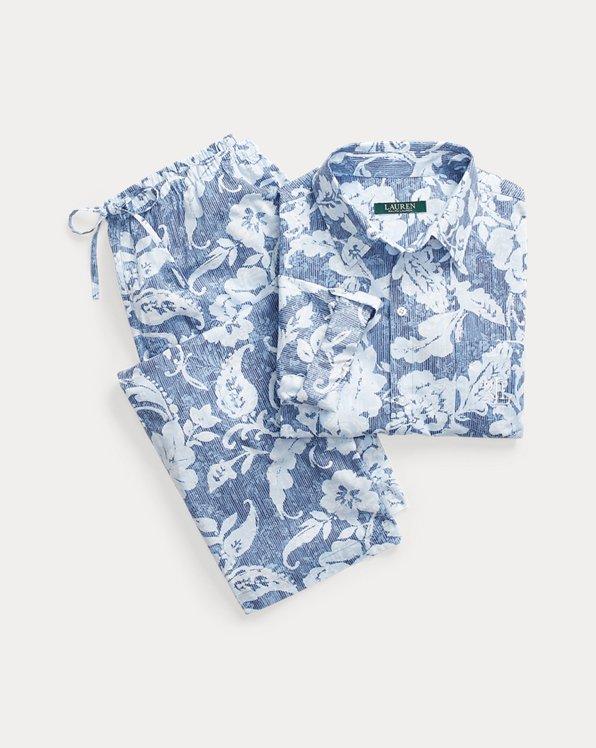 Pyjama Capri en coton